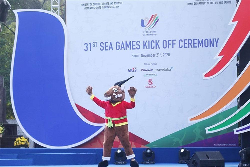 Kick-off ceremony, one-year countdown, 31st SEA Games, utmost efforts, ASEAN Para Games, Saola, official mascot