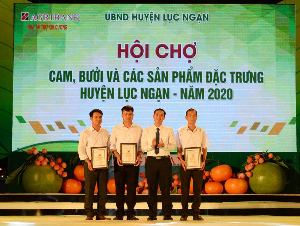 Image - Hội chợ Cam, bưởi và các sản phẩm đặc trưng huyện Lục Ngạn năm 2020: Hơn 250 nghìn lượt khách tham quan, tiêu thụ hơn 900 tấn