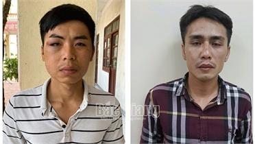 Bắc Giang: Bắt giữ 2 đối tượng trộm cắp tài sản của doanh nghiệp