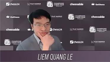 Quang Liêm thắng Karjakin