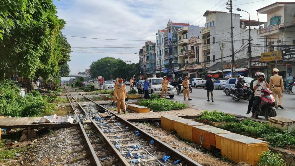 tai nạn, đường sắt, Bắc Giang