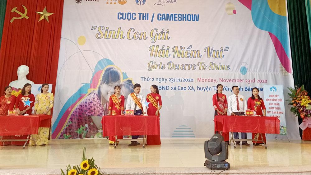 Sinh con gái - Hái niềm vui, trẻ em gái, phụ nữ, Bắc Giang, Dân số kế hoạch hóa gia đình