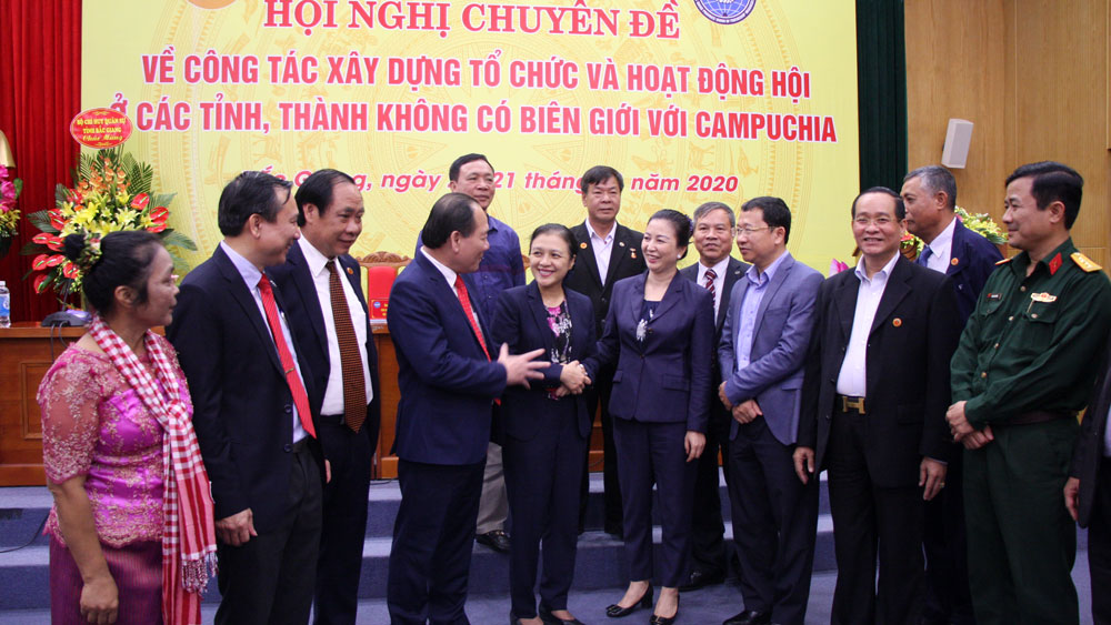 Enhancing efficiency of people-to-people relation with Cambodia
