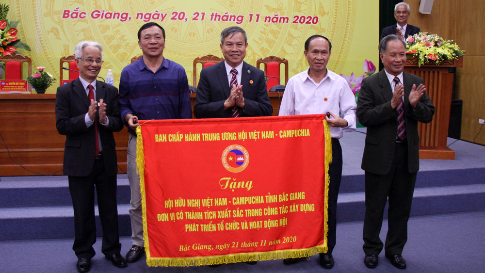 Enhancing efficiency, people-to-people relation, Cambodia, Bac Giang province, Friendship Association, VUFO, outstanding achievements