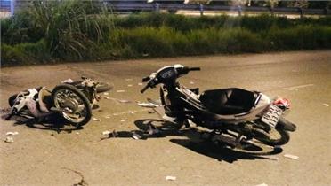 Bắc Giang: Hai xe máy ngược chiều va chạm, một thanh niên tử vong tại chỗ