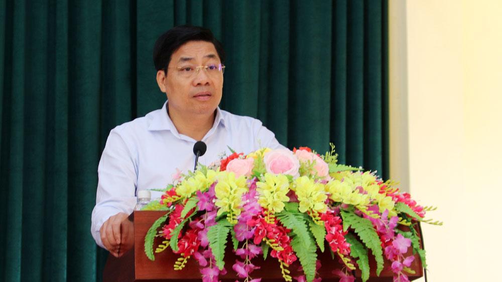 Bắc Gang, tiếp xúc cử tri, Bí thư Tỉnh ủy, Chủ tịch UBND tỉnh, Dương Văn Thái, HĐND, Sơn Động.