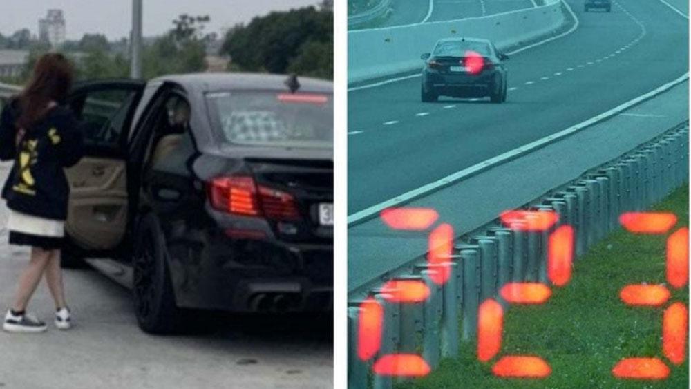 Chạy xe, tốc độ 223 km/h , cao tốc Bắc Giang – Lạng Sơn, tài xế ,  tước giấy phép 3 tháng