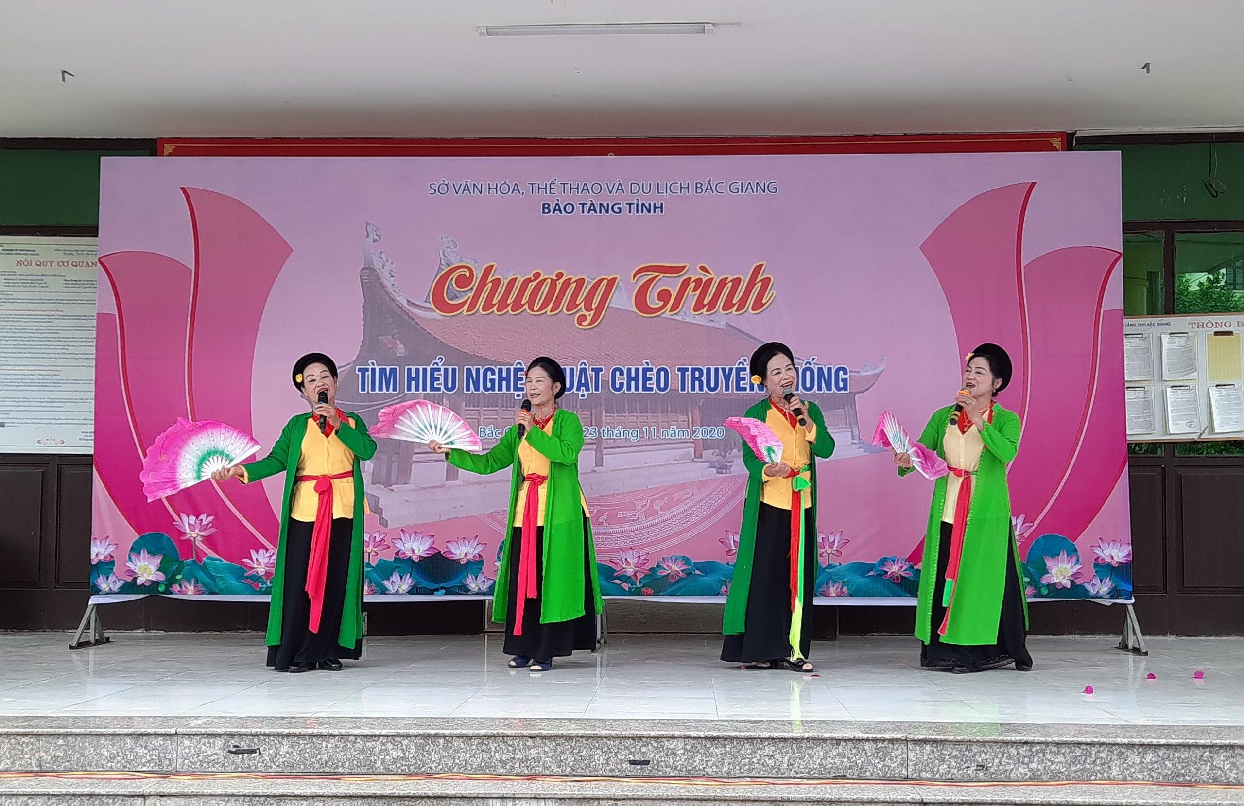 Exchange activities, traditional opera, Bac Giang province, traditional opera, traditional art form, cultural heritage