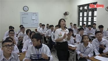 Học mà chơi, chơi mà học ở Trường THPT Thái Thuận (TP Bắc Giang)
