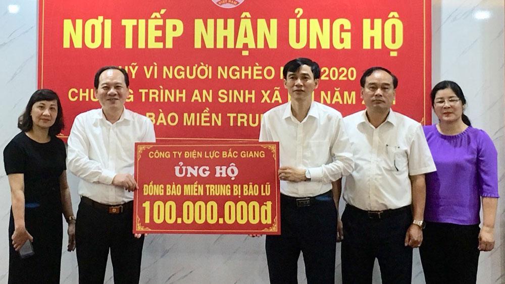 MTTQ, miền trung, ủng hộ, người nghèo, Bắc Giang.