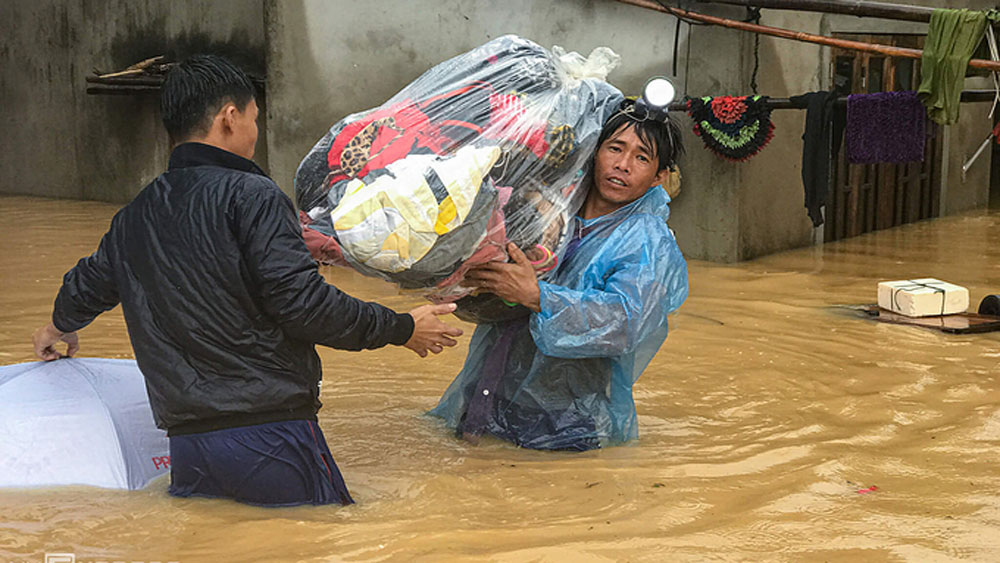 Four die, bacterial infection, central Vietnam, historic deluge, Flood-hit Quang Tri Province, Whitmore's disease