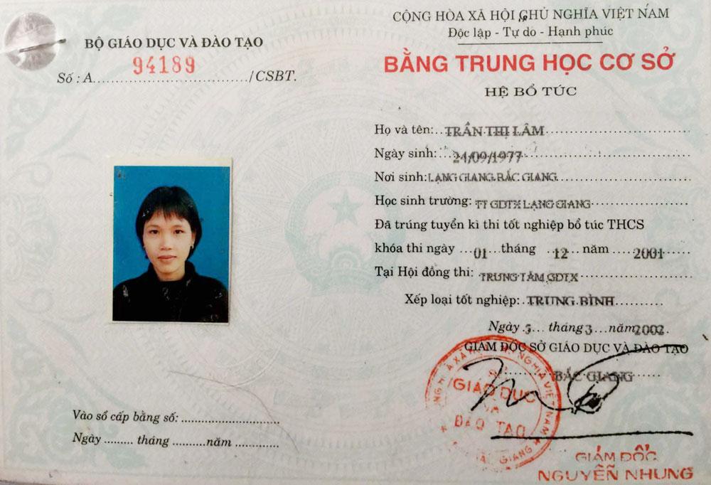 Bắc Giang, xã Yên Mỹ, LạngGiang, trách nhiệm, bà Trần Thị Lâm