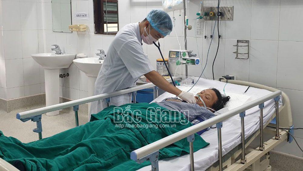 sốt mò, vi khuẩn, viêm phổi, sốc nhiễm khuẩn, Bắc Giang.