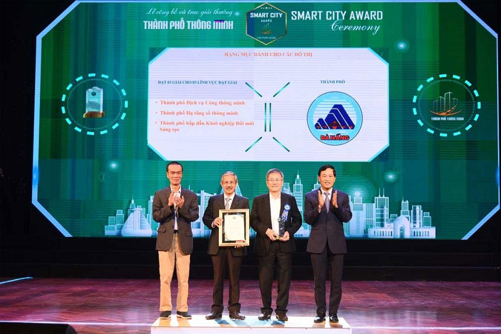 Winners, Vietnam Smart City Awards, Vietnam IT Software, inevitable development trend, social economic development, technology solutions