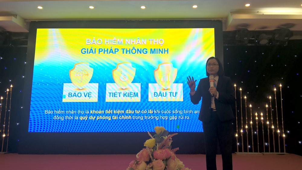 Bảo Việt Nhân thọ, Bắc Giang,  tầm soát ung thư, chi trả quyền lợi bảo hiểm, khách hàng, rủi ro