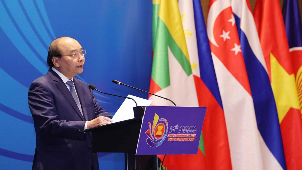Thủ tướng Nguyễn Xuân Phúc, Hội nghị Bộ trưởng ASEAN, phòng, chống tội phạm xuyên quốc gia, lần thứ 14