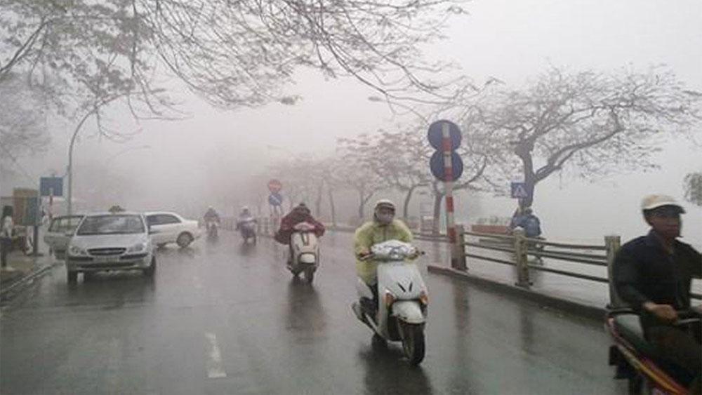 Không khí lạnh rất mạnh sắp tràn về miền Bắc gây mưa rét diện rộng