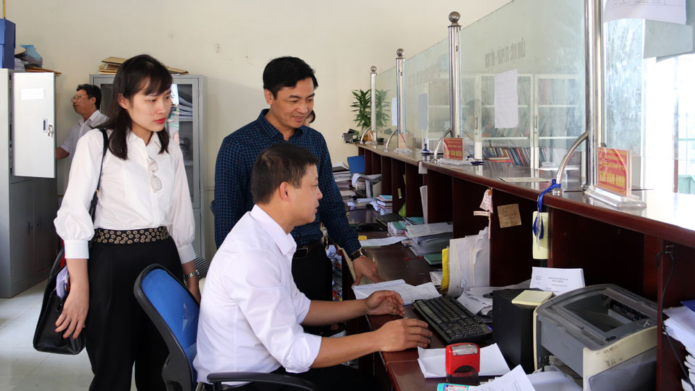 Cải cách hành chính, kiểm tra, iso, Lục Ngạn, Bắc Giang.