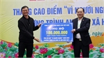 Over 13 billion VND donated to Fund for the poor
