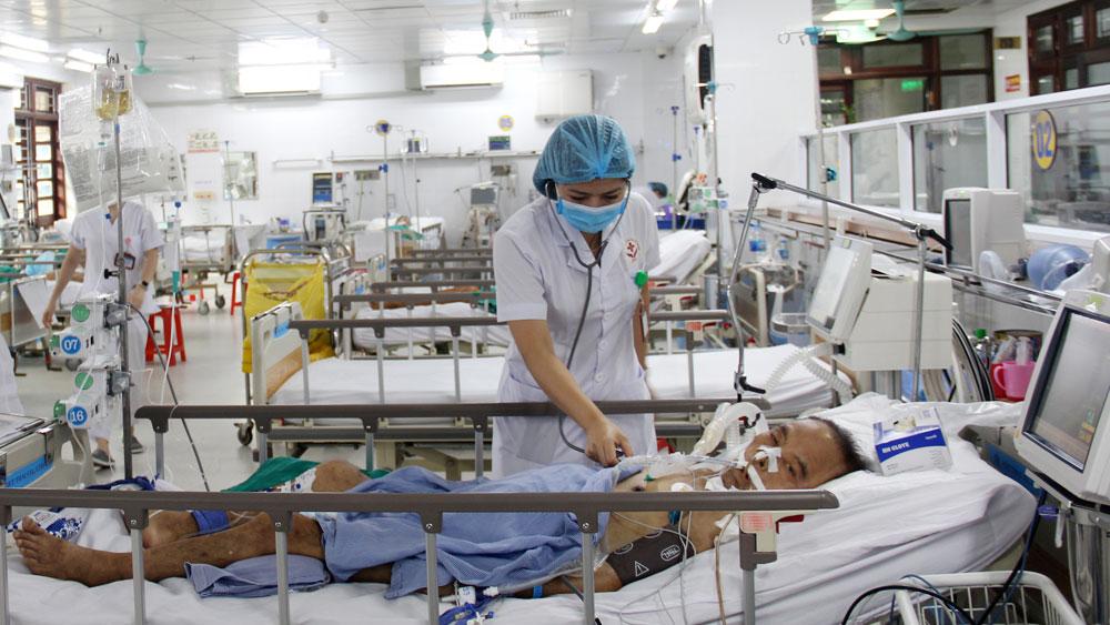 Bắc Giang, bệnh viện, trung tâm y tế, quá tải người bệnh, khám, chữa bệnh