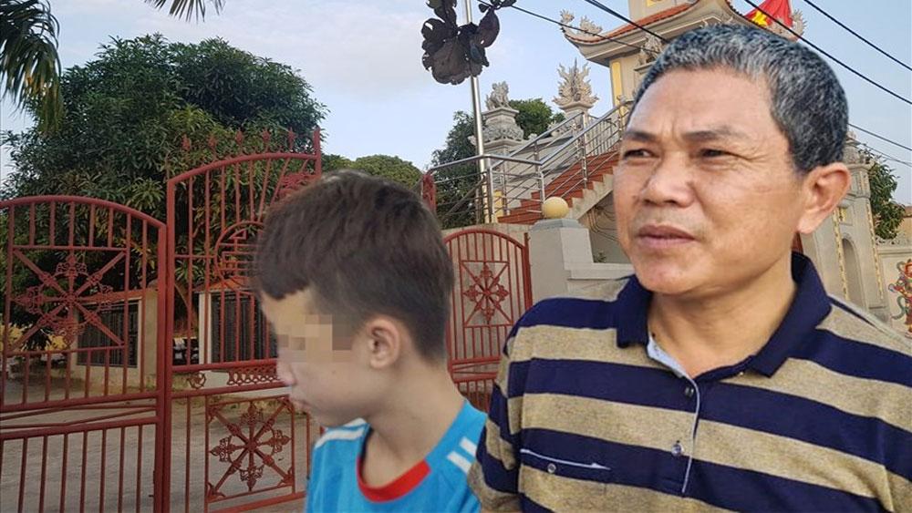 Vụ bạo hành ở quán bánh xèo Bắc Ninh, Gặp người cưu mang, cháu bé, đầu tiên, Ông Nguyễn Hữu Hạnh