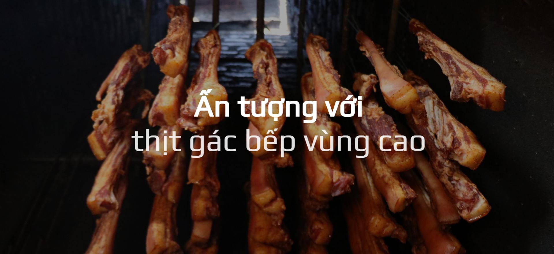 Thịt gác bếp, Đặc sản, khói bếp vùng cao, Cách thức bảo quản, nơi gác bếp