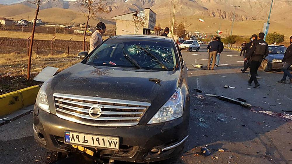 Đại giáo chủ Iran, tuyên bố , đáp trả, nhà khoa học hạt nhân, bị ám sát