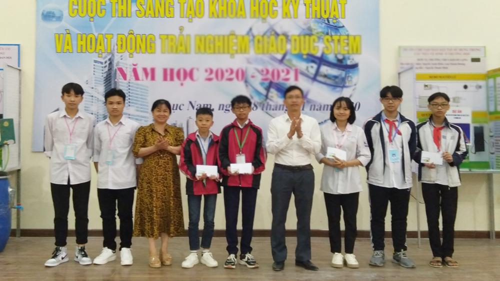 Lục Nam: 2 sản phẩm giành giải Nhất cuộc thi sáng tạo khoa học kỹ thuật