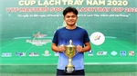 Trinh Linh Giang rocks Vietnamese tennis by triumph over top star Ly Hoang Nam
