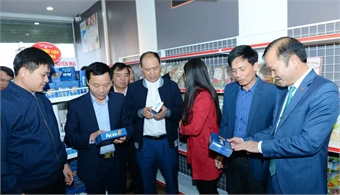 Viet Yen district opens store to introduce and showcase OCOP products