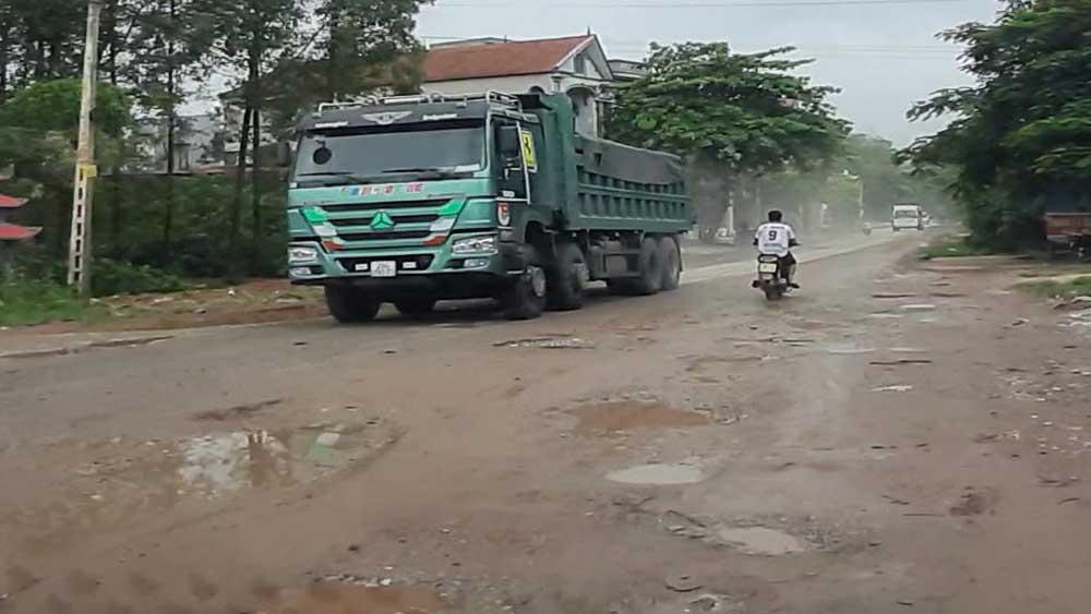Hơn 158, tỷ đồng, cải tạo, nâng cấp, đường tỉnh 292, thị trấn Phồn Xương, Yên Thế