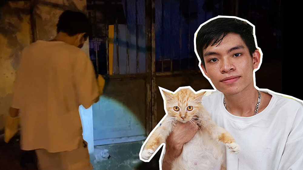 Hanoian quits university to shelter feral cats