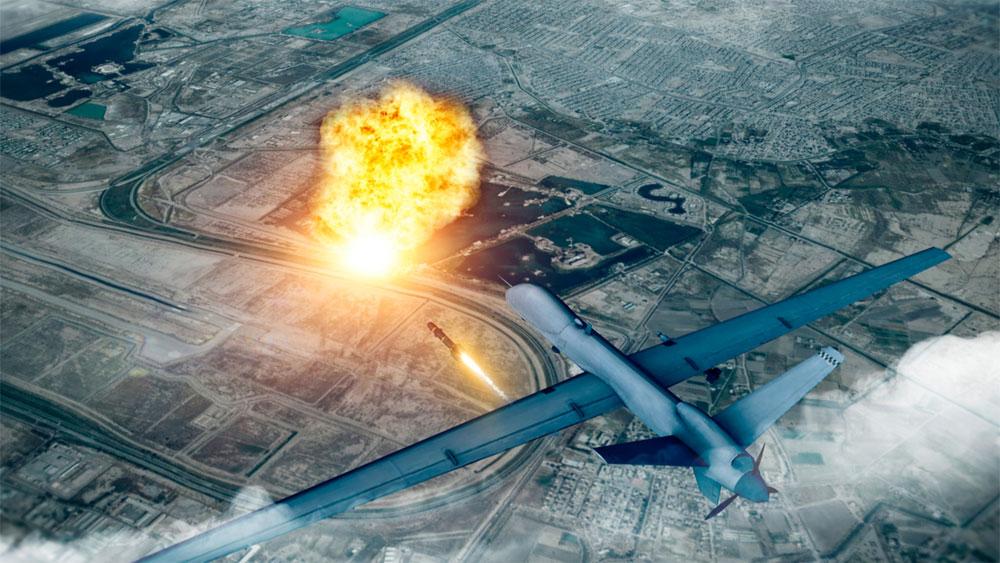 Máy bay không người lái , sát hại,  chỉ huy, Vệ binh Cách mạng Hồi giáo Iran, biên giới Iraq-Syria