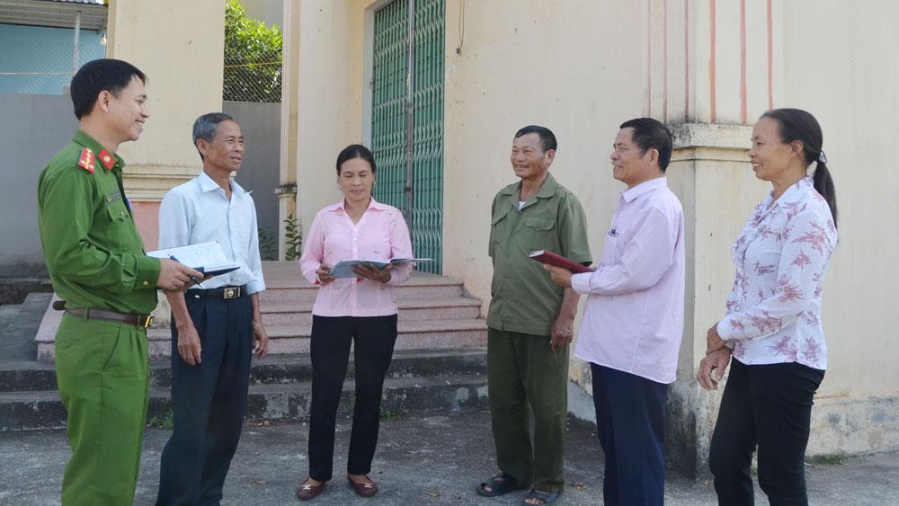 Tổ tự quản ở xã Hương Mai (Việt Yên): Nòng cốt bảo đảm an ninh trật tự