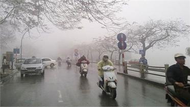 Không khí lạnh tiếp tục bổ sung, Bắc Bộ và Bắc Trung Bộ giảm nhiệt