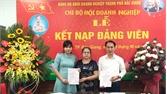 TP Bắc Giang chú trọng phát triển đảng trong doanh nghiệp