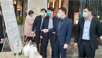 Provincial leader Le Anh Duong orders strict implementation of Covid-19 preventive regulations