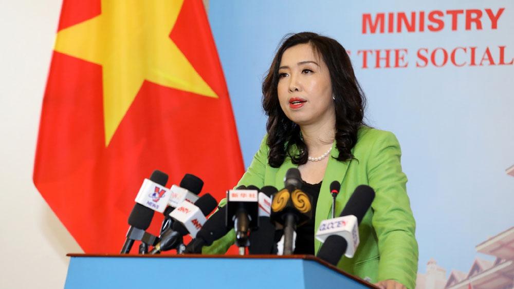 Yêu cầu, Trung Quốc , tôn trọng chủ quyền của Việt Nam, Biển Đông