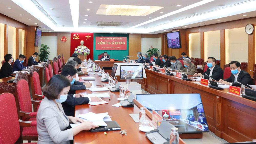 Đề nghị, Bộ Chính trị, Ban Chấp hành Trung ương, xem xét , khai trừ khỏi Đảng, ông Nguyễn Đức Chung