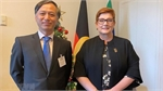 Australian foreign minister hopes for stronger ties with Vietnam