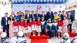 Quality helmets donated to special needs school in Hanoi