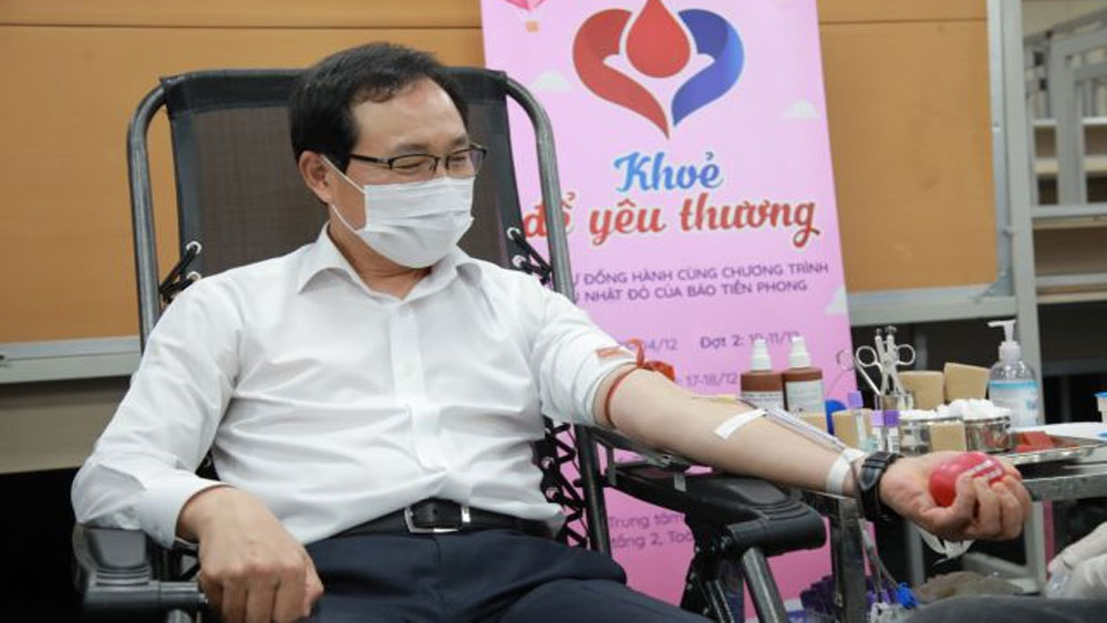 10,000 units of blood, Samsung drive, Blood for Vietnamese,  closing ceremony, Covid-19 pandemic, blood donation