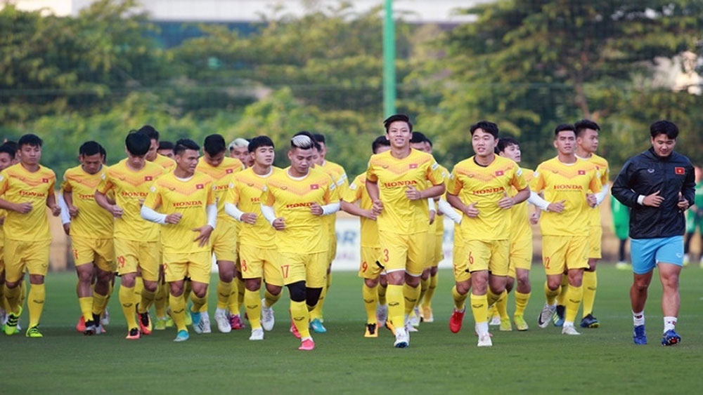 Vietnam's national team, first gathering, Youth Football Training Centre, World Cup qualifiers, key goals, daily training