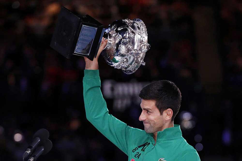 Grand Slam, Djokovic, Australia Mở rộng
