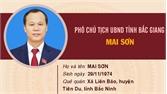 Chân dung đồng chí Mai Sơn, Ủy viên BTV Tỉnh ủy, Phó Chủ tịch UBND tỉnh