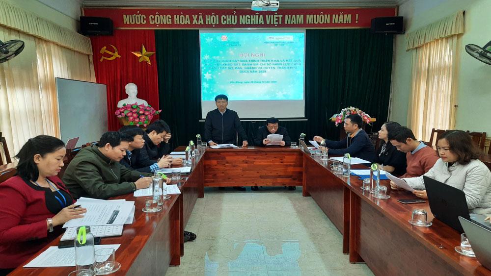 Bắc Giang, Dự kiến, kết quả, xếp hạng, DDCI, năm 2020, sẽ được, công bố, vào tháng 1/2021