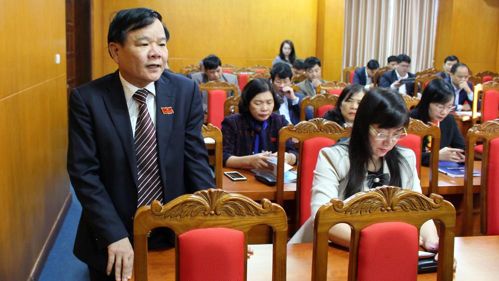 Kỳ họp thứ 12, HĐND tỉnh Bắc Giang khóa XVIII: Thảo luận, kiến nghị nhiều giải pháp khắc phục bất cập tại cơ sở