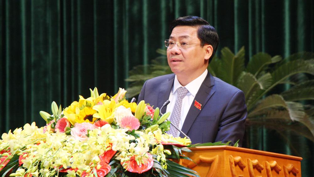 Bắc Giang, khai mạc, kỳ họp 12, HĐND tỉnh, khóa XVIII, thảo luận