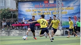 Yên Dũng: 16 đội bóng tranh tài giải bóng đá các câu lạc bộ toàn huyện