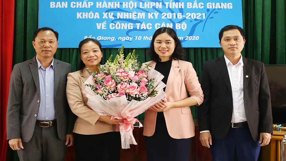 Bắc Giang: Đồng chí Ngụy Thị Tuyến được bầu làm Chủ tịch Hội Liên hiệp Phụ nữ tỉnh